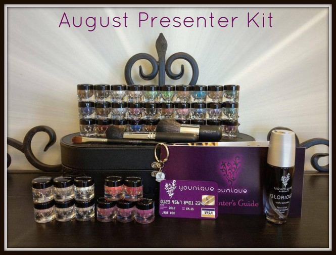 august younique presenter kit younique by tiffany younique